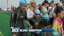 Blind Girl Tackles California Triathlon