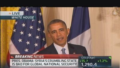 Pres. Obama: Horrendous situation in Syria