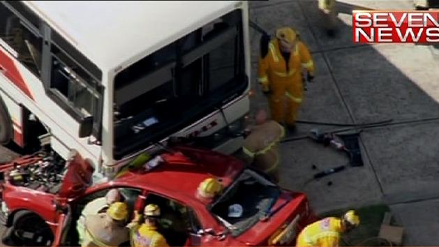 School bus crash near Melbourne