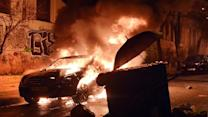 Greek Police Clash with Antigovernment Protesters