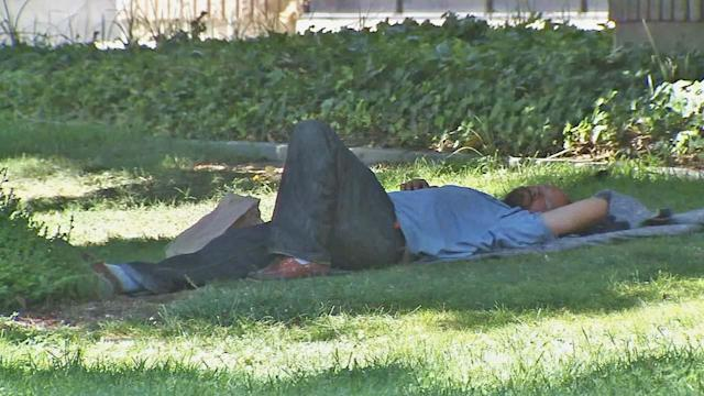 San Bernardino to fence homeless out of park?
