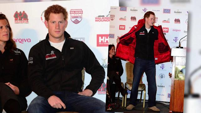Prince Harry Joins Walking With the Wounded South Pole Trek