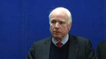 McCain Urges Afghans to Sign Security Pact