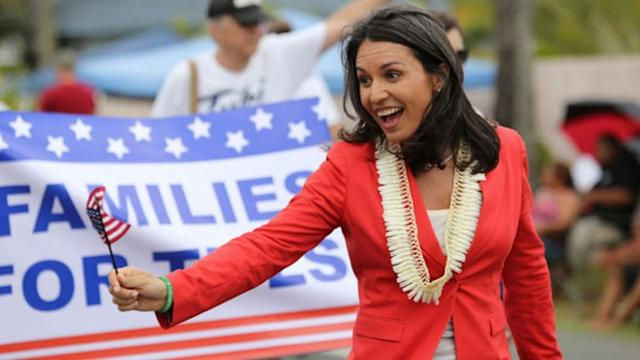 'No girls allowed': Iraq War Vet Rep. Tulsi Gabbard on Opening Combat Missions to Women