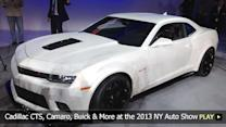 GM's New Cadillac CTS, Camaro, Buick and More at the 2013 New York Auto Show