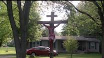 Neighbors Say Life-Sized, Bloody Crucifix is Scaring Children