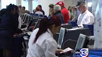 Thanksgiving travelers thankful for smooth travels