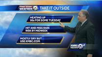 Get ready for near-record high temperatures