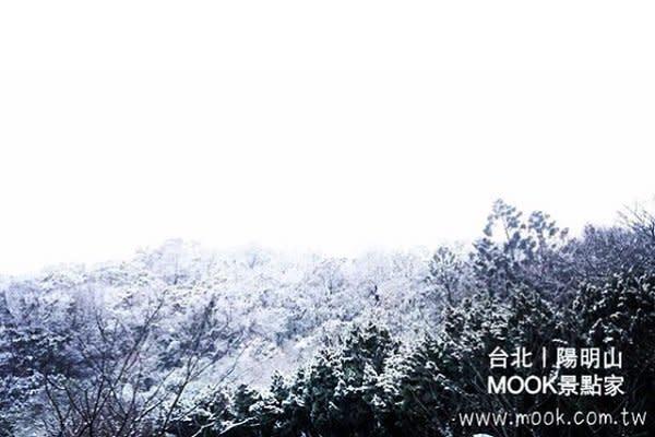 陽明山飄雪變秘境 (圖/MOOK)