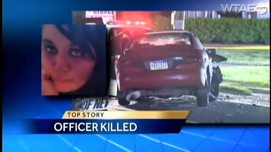Shenango Township police officer killed when chase ends with crash