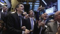 Box IPO soars, Starbucks shares hit record while DreamWorks dwindles