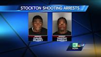 3 arrested in Stockton shooting