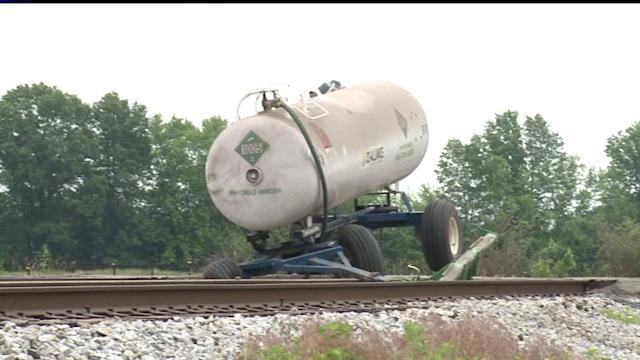 Chicago-Bound Train Crashes Into Tractor