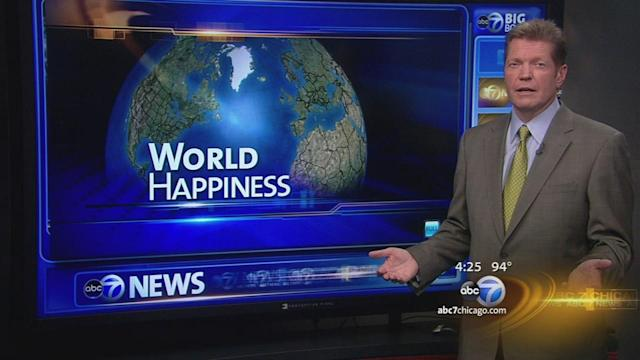 World's happiest countries