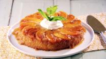 Sweet Peach Upside-Down Cake