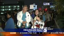 Health Care Workers Head to Sacramento for Rally