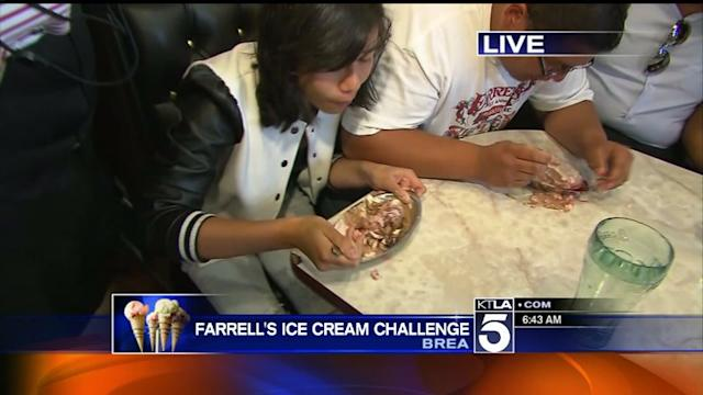 How to Win an Ice Cream Eating Contest