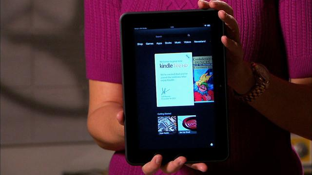Unboxing the Amazon Kindle Fire HD 8.9 tablet