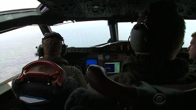 CBS News gets firsthand look at search for Flight 370