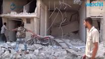 Russia Launches New Airstrikes In Syria