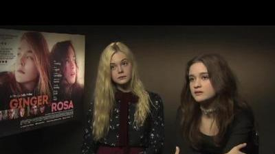 Ginger and Rosa Cast Interview