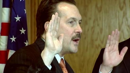 County officials sworn in on same Bible