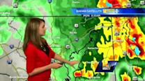 Ava: Expect rain, some heavy, all day