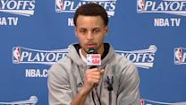 Curry on sweeping the Pelicans
