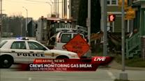 Broken gas meter forces evacuations in Racine
