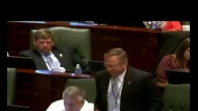 Temper tantrum in the Illinois General Assembly