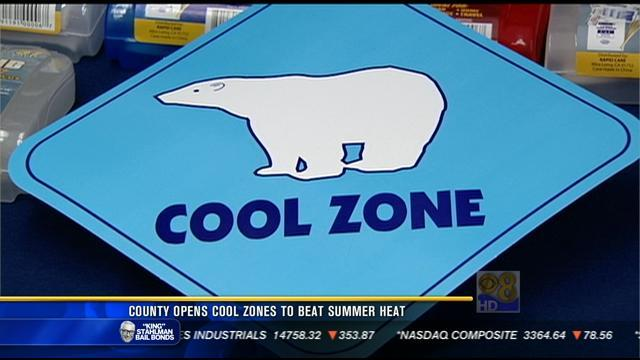 County opens Cool Zones to beat summer heat
