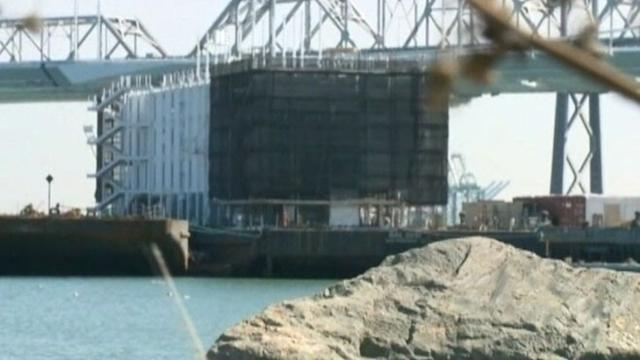 Mystery Barge in San Francisco Bay Sparks Curiosity