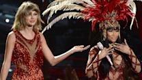 Taylor Swift & Nicki Minaj  'Bad Blood' Performance at 2015 MTV VMA's
