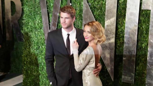 Liam Hemsworth Arrives in LA After Miley Cyrus Puts Her Engagement Ring Back On