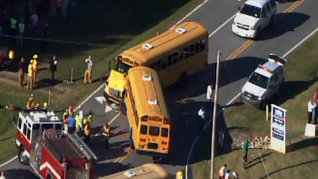 Two school buses collide in Franklin County