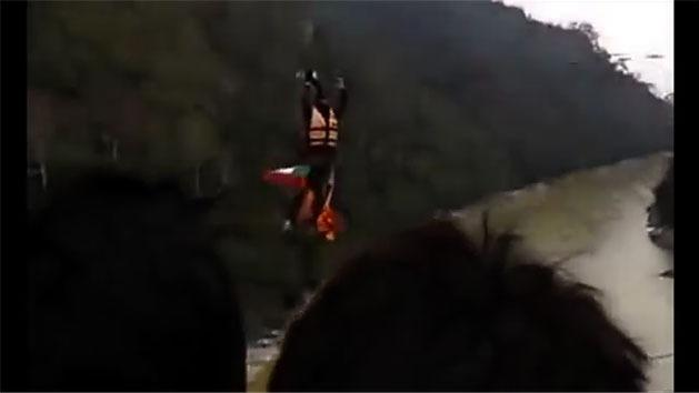 RAW: Man dies after ponytail gets stuck on zip line