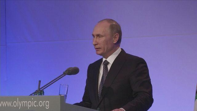Putin hoping for 'unforgettable' Winter Olympics