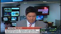 Fitch puts US credit rating on negative watch