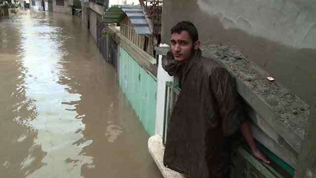 Middle East region lashed by inclement weather
