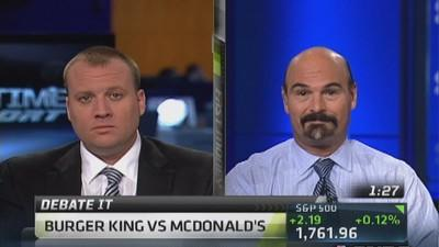 Debate it: Burger King vs McDonald's