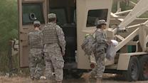 Texas National Guard Troops on Mexican Border