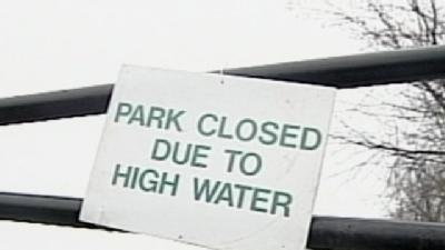 Roads, Parks Closed Because Of High Water