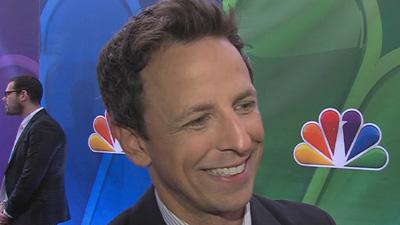 Seth Meyers Dishes On Taking Over NBC's Late Night