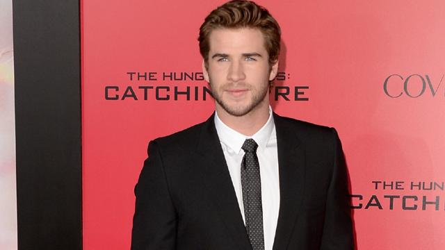 Liam Hemsworth's 'The Hunger Games: Catching Fire' LA Premiere