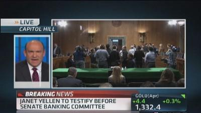 Yellen back on the Hill