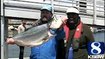 Salmon fishing derby in Monterey