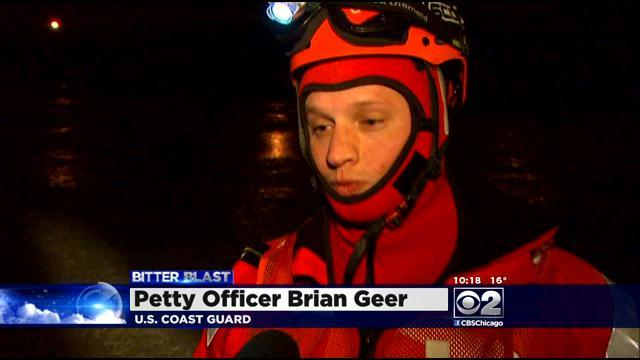 VIDEO: Firefighters Practice Ice Rescues