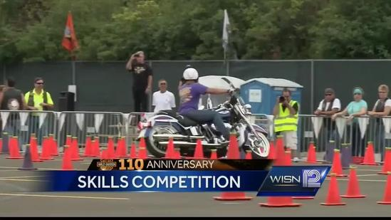 Harley riders compete as they test skills