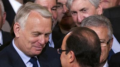 Hollande names Ayrault new French PM