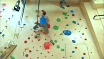 Climbing gym for adults provides great workout